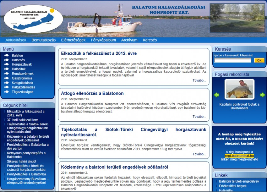 Balatoni Halgazdálkodási ZRt.