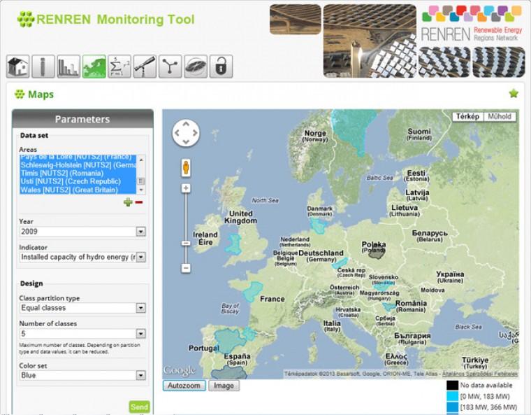 REN-REN monitor rendszer