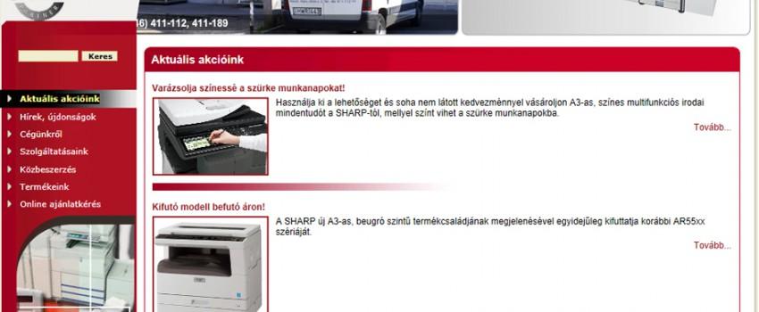 XERO kft. webshop