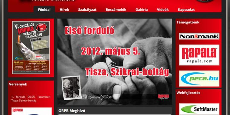 Országos Rapala bajnokság honlapja