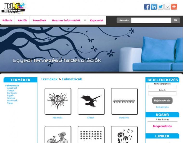 Matrica webáruház